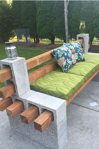 Creative ways to use concrete blocks