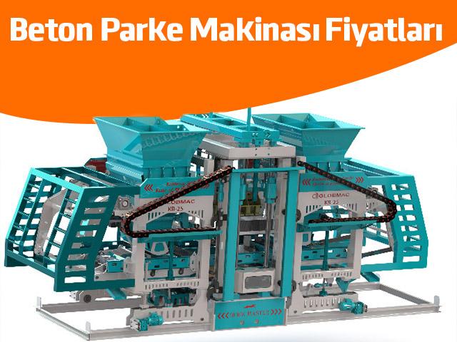 Beton Parke Makinası Fiyatları