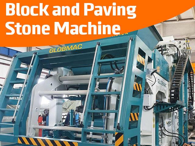 Block and Paving Stone Machine