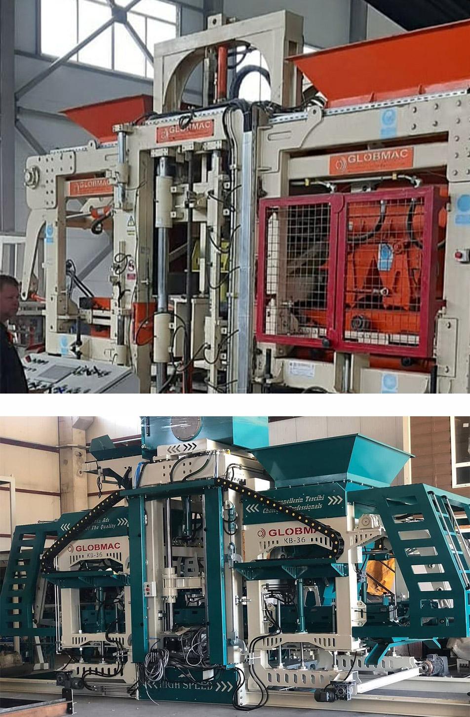 Fully Automatic Block-Making Machine