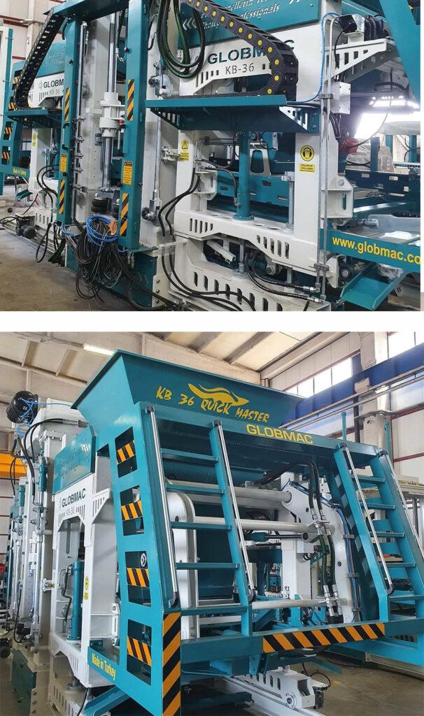 Semi-automatic Block-Making Machine