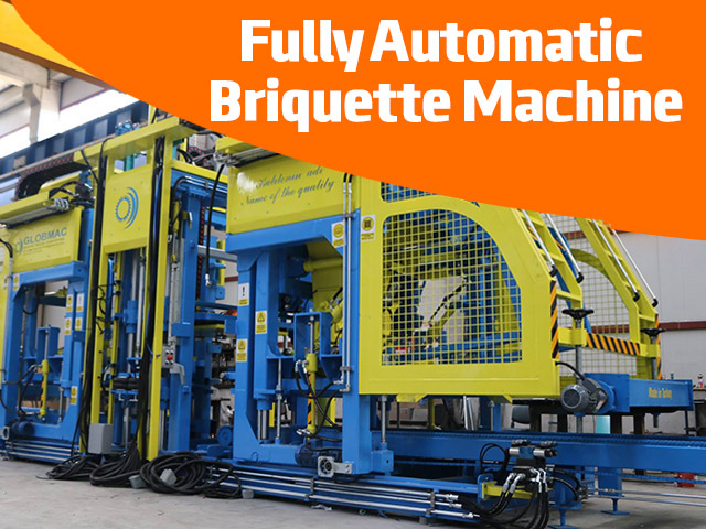 Fully Automatic Briquette Machine