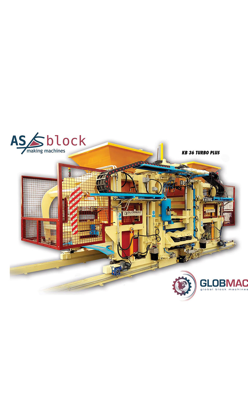 Globmac Fully Automatic Briquette Machines