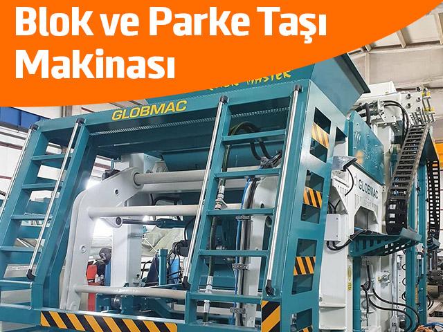 Blok ve Parke Taşı Makinası