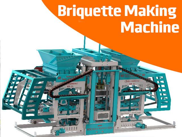 Briquette Making Machine
