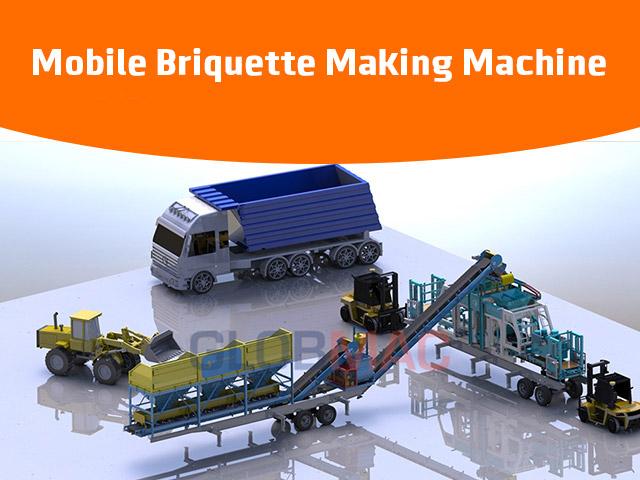 Mobile Briquette Making Machine