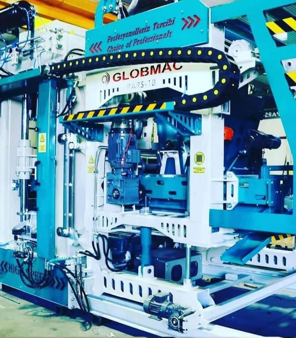 Globmac Briket Makineleri