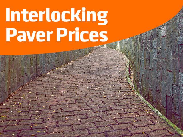 Interlocking Paver Prices