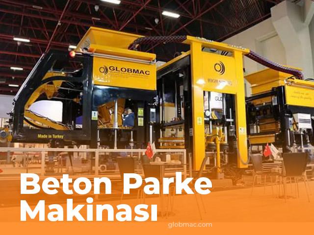 Beton Parke Makinası