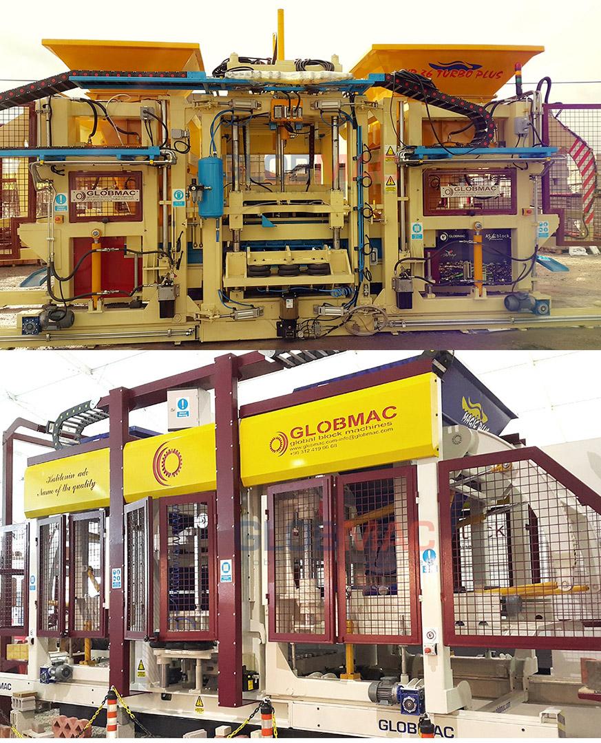 GLOBMAC Briket Makinaları