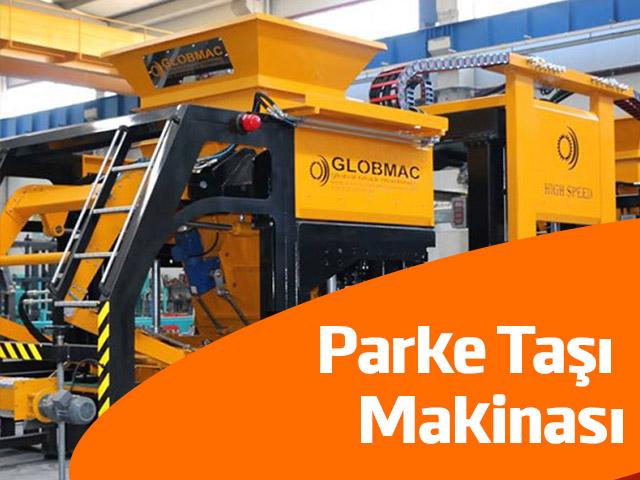 Parke Taşı Makinası