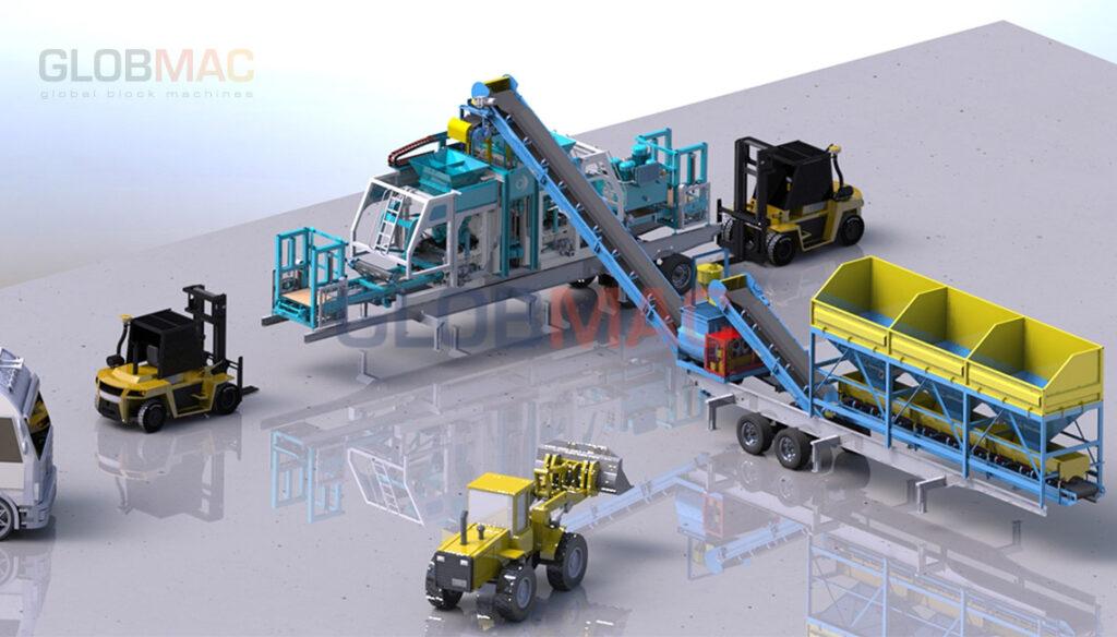 KB MBL Mobil (Taşınabilir) Beton Parke ve Briket