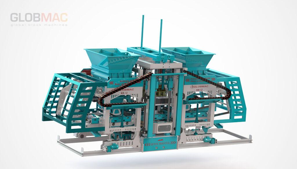 KB12 QUICK MASTER Beton Parke ve Briket Üretim Tesisi