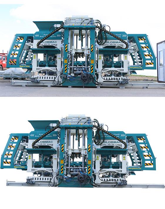 Otomatik Blok Yapma Makinası